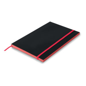 block notes personalizzati a5 colore rosso