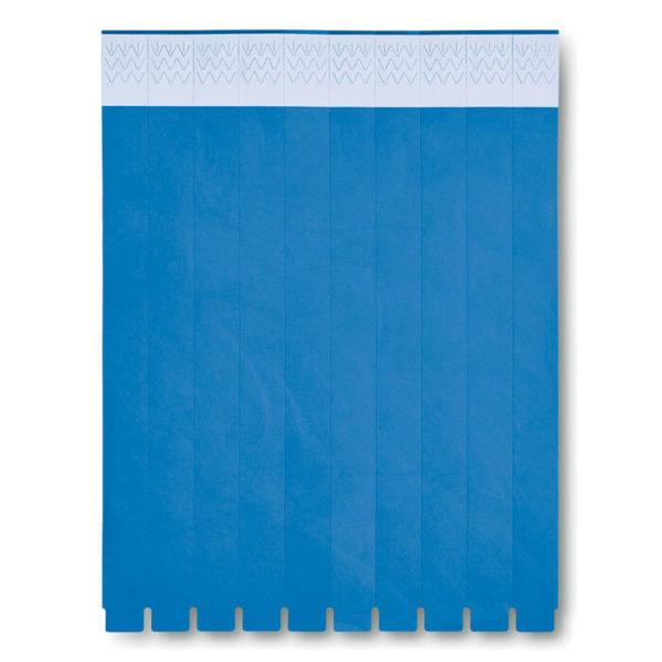 braccialetti tyvek blu