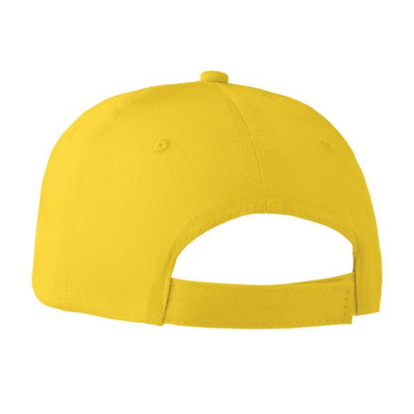 cappellini personalizzati con il tuo logo colore giallo retro