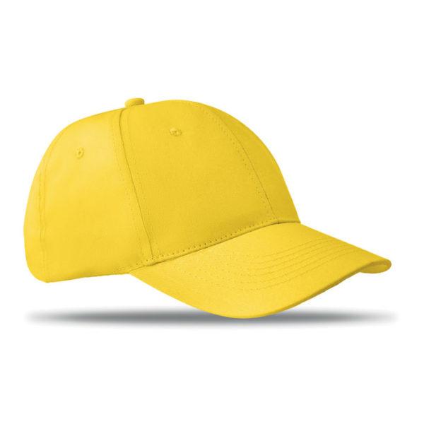 cappellini personalizzati con il tuo logo colore giallo