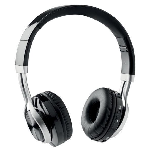 cuffia personalizzate bluetooth on ear colore nero