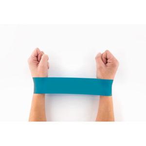 strech elastici fitness personalizzati colore turchese