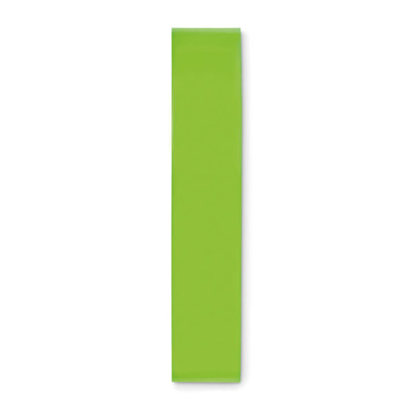 elastici fitness personalizzati colore lime