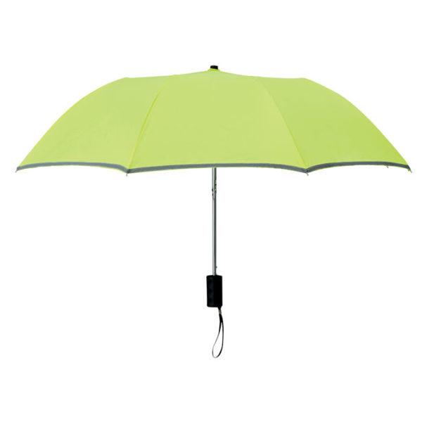 ombrello tascabile neon aperto