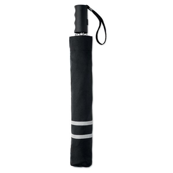 ombrello tascabile colore nero chiuso