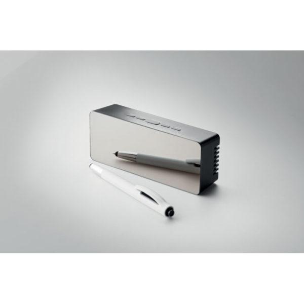 orologio con termometro elegante da scrivania