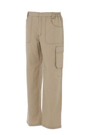 pantalone professionale beige