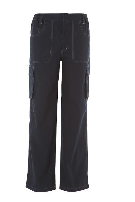 pantalone professionale navy