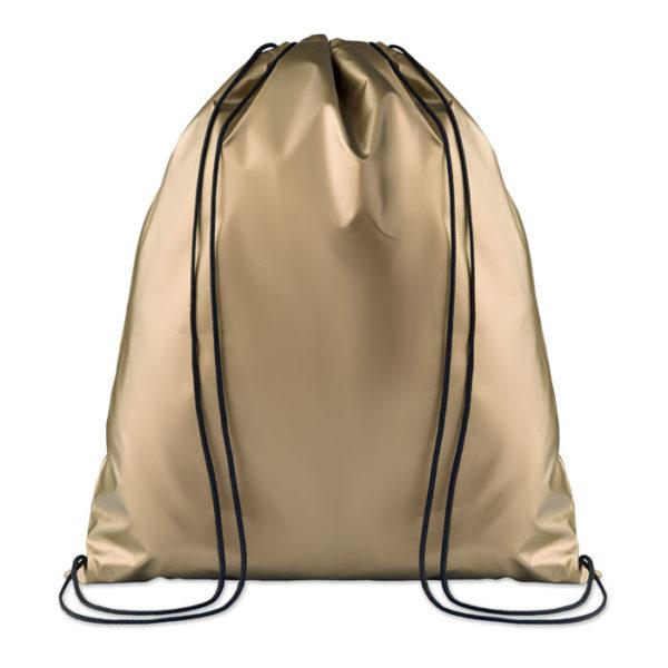 sacca in pp effetto metallico oro