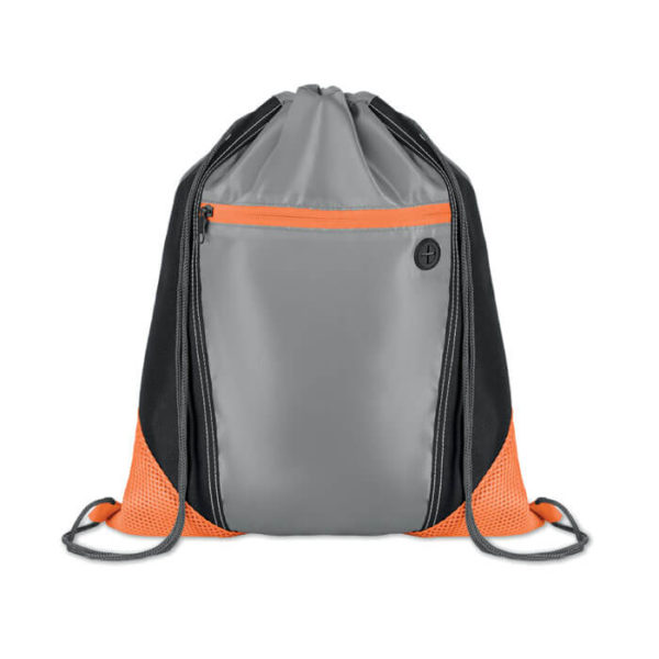 sacche personalizzate poliestere arancio