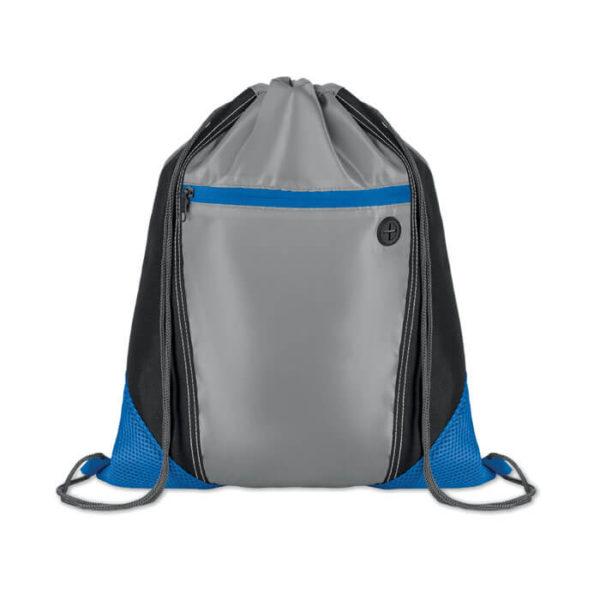 sacche personalizzate poliestere blu