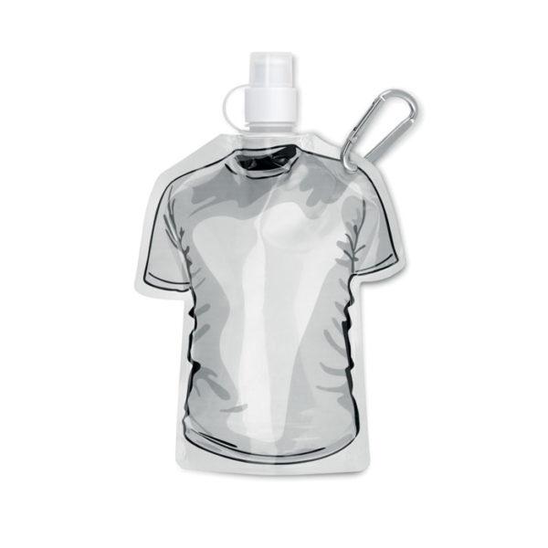 bottiglie personalizzate a di forma maglietta colore bianco