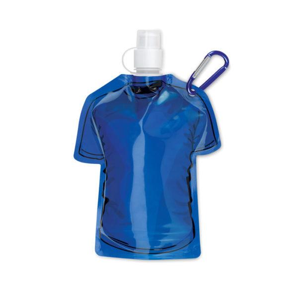 bottiglie personalizzate a di forma maglietta colore blu