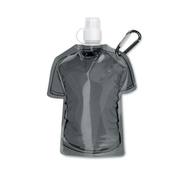 bottiglie personalizzate a di forma maglietta colore nero