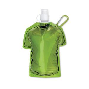 bottiglie personalizzate a di forma maglietta colore verde
