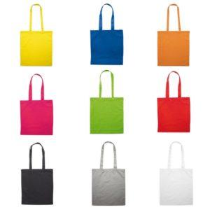 shopper personalizzate cotone multicolore