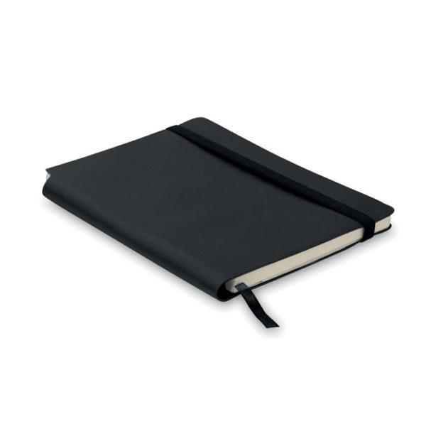 taccuino a5 copertina soft personalizzato colore nero