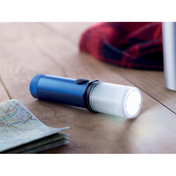 illuminazione di emergenza colore blu