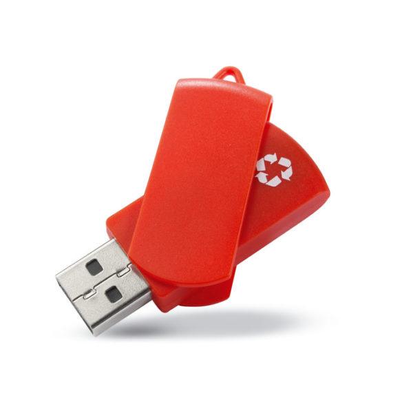 usb flash drive personalizzata rossa