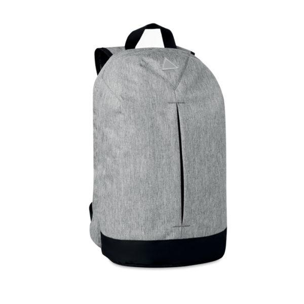 zaino antifurto personalizzato grigio