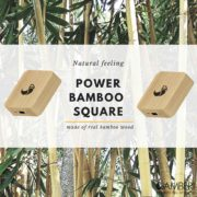 Power Bamboo square powerbank