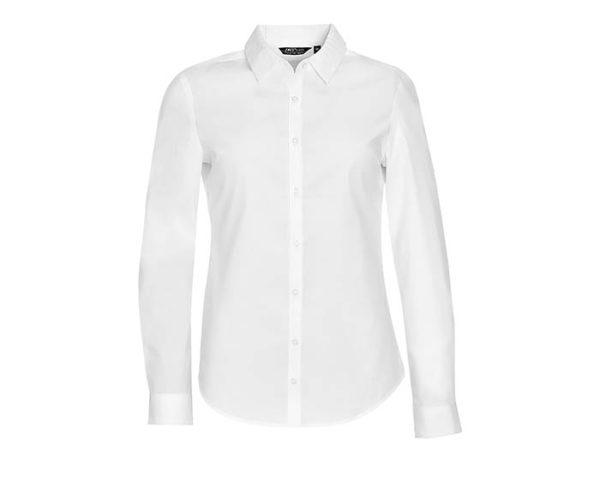 camicia donna elegante bianca