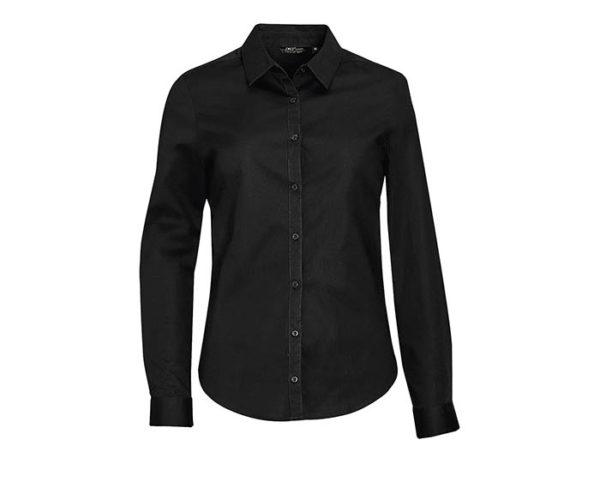 camicia donna elegante nera