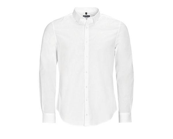 camicia uomo manica lunga bianca