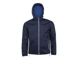 giacca a vento navy