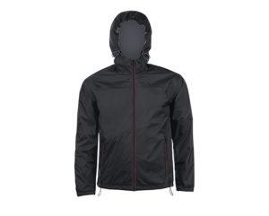 giacca a vento nera