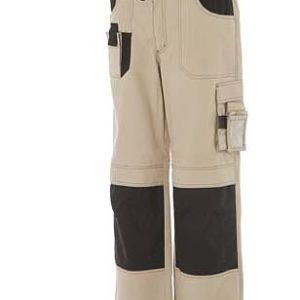 pantalone da lavoro multitasche beige