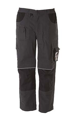 pantalone da lavoro multitasche dark grey