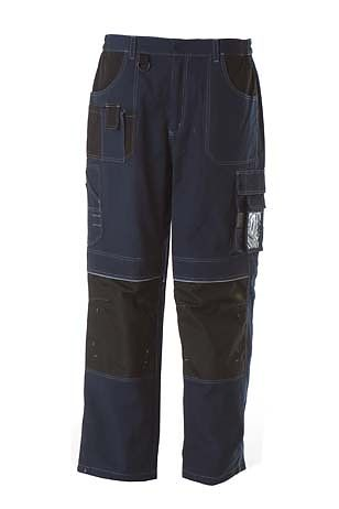 pantalone di da lavoro multitasche navy