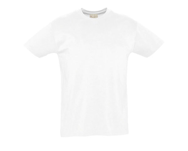 t-shirt cotone biologico bianco