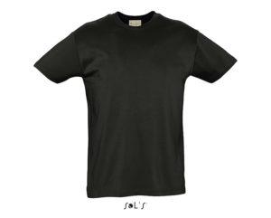 t-shirt cotone biologico nero