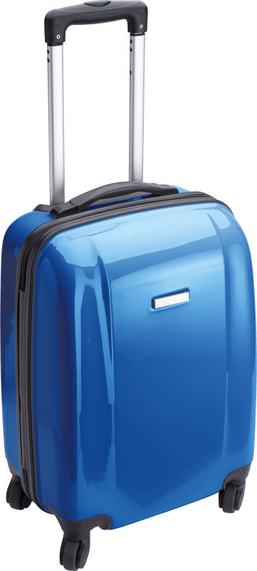 trolley rigido blu