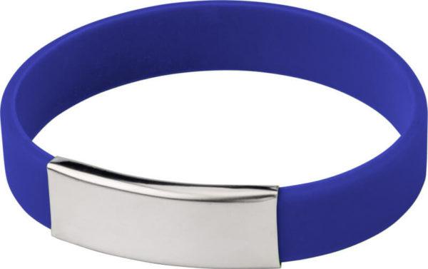 braccialetti personalizzabili silicone colore blu