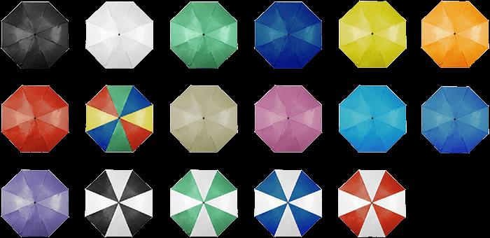 ombrelli pieghevoli colori