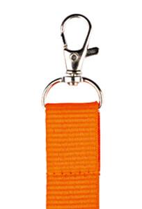 porta badge personalizzato arancione