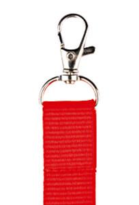porta badge personalizzato rosso