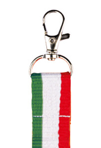 porta badge tricolore