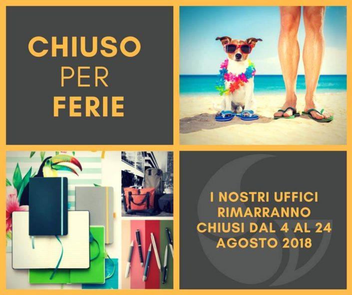 chiusura vacanze estive - articoli promozionali e gadget personalizzati