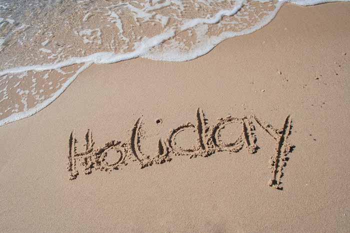 holiday chiusura vacanze estive