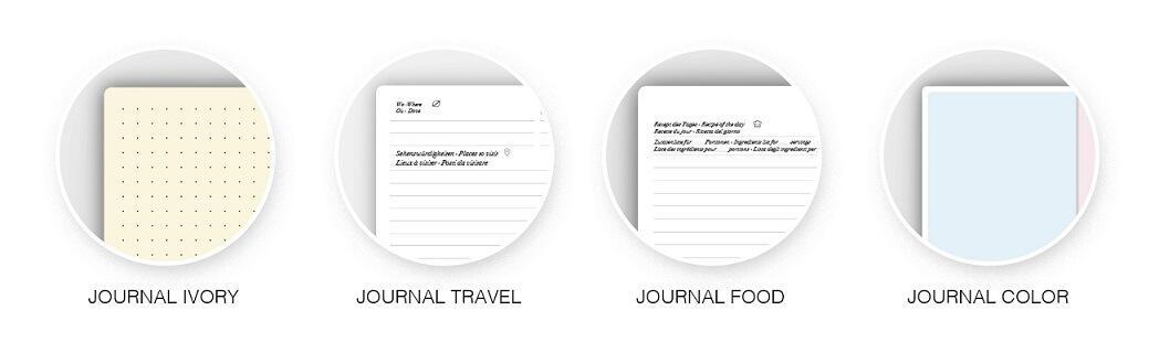 agende personalizzate bullet journal grafiche