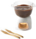 set fonduta cioccolato
